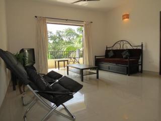 35) Modern one bed Siolim apartment Sleeps 2/4 - Siolim vacation rentals
