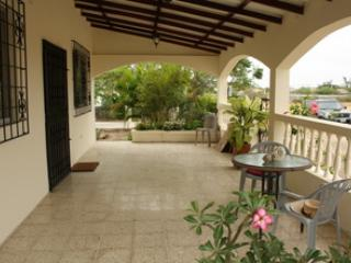 front terrace - Nature lovers' Cottage 5 minutes from the ocean - Ballenita - rentals