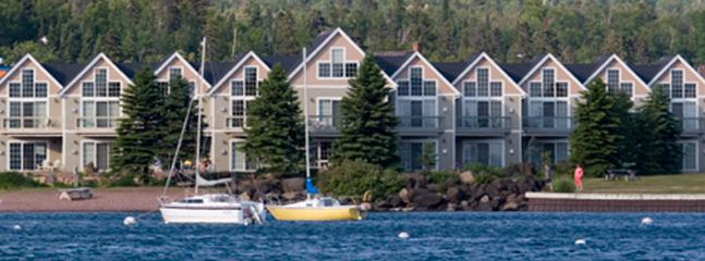 View from the Harbor - Townhomes at Cobblestone Cove - Grand Marais - rentals
