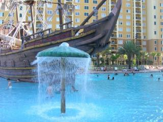 Luxury Condo 2 Br 2 Bath - Pirate Ship Pool View! - Orlando vacation rentals