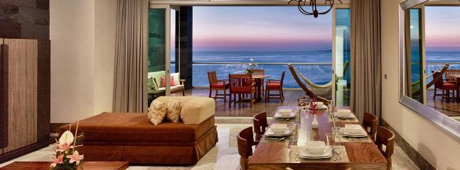 Living/Dining Room - Grand Luxxe Mstr Villa Nuevo Vallarta - 2BR/2.5BA - Nuevo Vallarta - rentals
