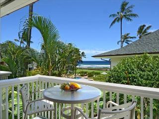 Oceanfront Poipu Kapili 20 Swaying Palms, Rolling Waves, Heated Pool, Updated - Waimea vacation rentals