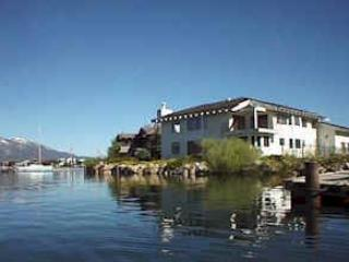 The house from outside - SPACIOUS WATERFRONT HOME WITH  DOCK AND NICE VIEW - South Lake Tahoe - rentals