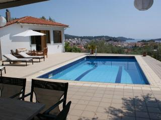 Styleful and modern villa with pool with town views - Skiathos vacation rentals