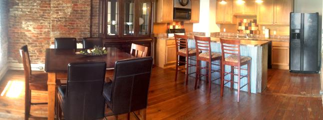Kitchen/Dining - Downtown Starkville Penthouse - Starkville - rentals