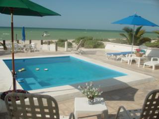 Uaymitun oceanfront w/pool - Chicxulub vacation rentals