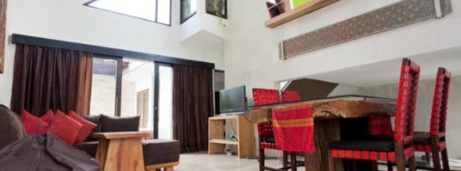 Dining room - Villa Naree 3 with pool in Batubelig, Seminyak - Kuta - rentals