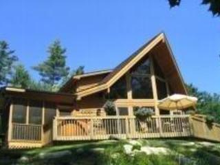 BEAUTIFUL LINDAL CEDAR HOME WITH GREAT LAKE VIEW - Charlemont vacation rentals