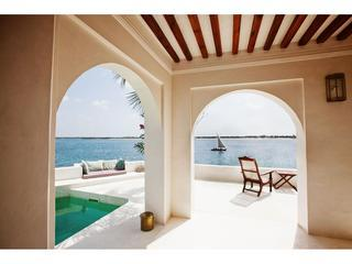 Beach and Sea Views from the main lounge. - Forodhani House, on Shela Beach, in Lamu, Kenya - Lamu - rentals
