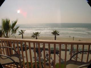 Direct Ocean View condo with spacious Patio/deck - Pacific Beach vacation rentals