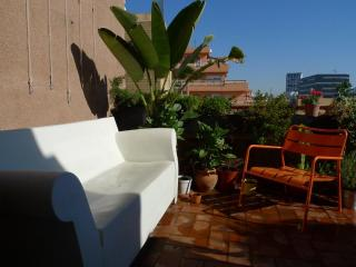 Beachside terrace apartment - Barcelona vacation rentals