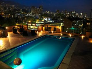 360 Degree MILLION $ PENTHOUSE, private POOL JACUZ - Medellin vacation rentals