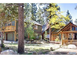 Lily Bear Lodge Front Summer - Sleeps 35, hottub, sauna, pool table, close to all - Big Bear City - rentals