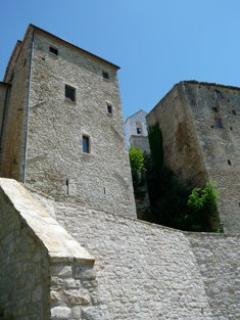 Rear view of Tower - Ancient tower - sleeps 8 - Massa Martana - rentals