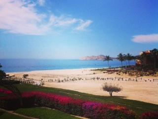 View from the patio - Casita Topaz ~  Beachfront Casa del Mar  Los Cabos - San Jose Del Cabo - rentals