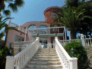 Residence 2 apartments - secure private pool - panoramic sea views - Oliva vacation rentals