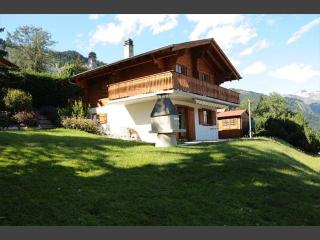 Quiet individual chalet for 6 near Anzère & skiing - Gstaad vacation rentals
