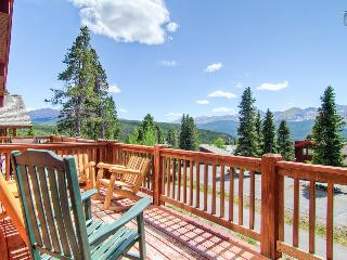Luxury mountain home with hot tub, heated deck, and gorgeous mountain views (amazing views, free shuttle) - Firelight Luxury - Breckenridge vacation rentals