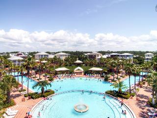 Modern, spacious condo overlooking Lagoon pool with large balcony, just a short walk to the beach - Villa at Seacrest - Seacrest Beach vacation rentals