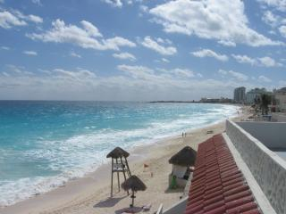 4 BR Beach Front Villa On The Beach - Cancun vacation rentals