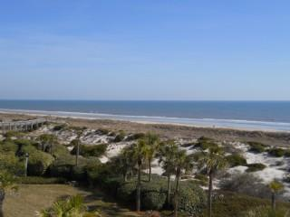 View from private balcony - Amelia Surf & Racquet Club A-124 - Amelia Island - rentals