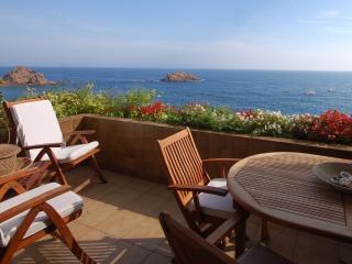 EXCLUSIVE SEA VIEWS APARTMENT  in TOSSA DE MAR - Vidreres vacation rentals