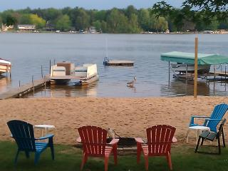 Upper Silver Lake Private Beach Front. - Mears vacation rentals