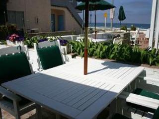 Patio - Ocean View Beach Cottage - 4BR, 2BA - Pacific Beach - rentals