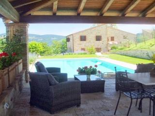 Todi 16 century Country Villa with pool - Todi vacation rentals