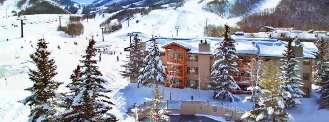 View of Snow Flower complex and a couple runs - Ski in Ski out, Park City, UT - Park City - rentals