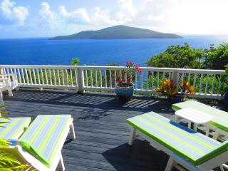 St. Thomas USVI 3 bedroom plus Cottage Villa - Peterborg vacation rentals
