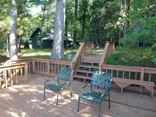 Higgins Lakefront Cottage & dock, in Deep Woods - Northeast Michigan vacation rentals