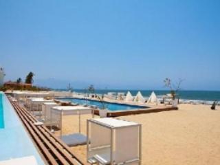 Pool on the beach - Beautiful two bedroom condominium on the beach! - Nuevo Vallarta - rentals