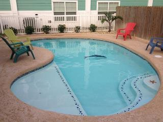 Diving Dolphin Pet Friendly Home!  Fully fenced in yard! Private Pool! - Port Aransas vacation rentals