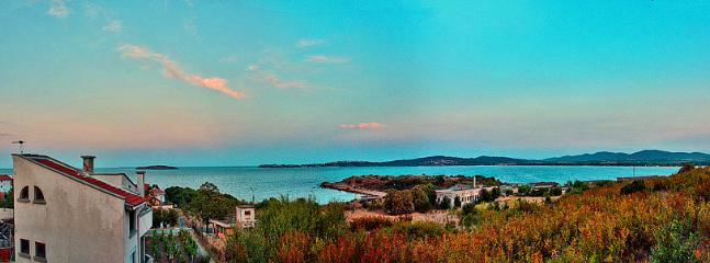 view from the dining room - Top floor of a summer villa with Amazing view! - Chernomorets - rentals
