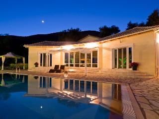 Modern luxury villa / private pool / Island  views - Vasiliki vacation rentals