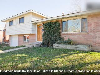 Best Deal in Boulder! - 4 Bedroom So. Boulder Home - Boulder vacation rentals