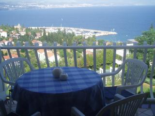 2 bed apartment with wonderful seaview - Matulji vacation rentals