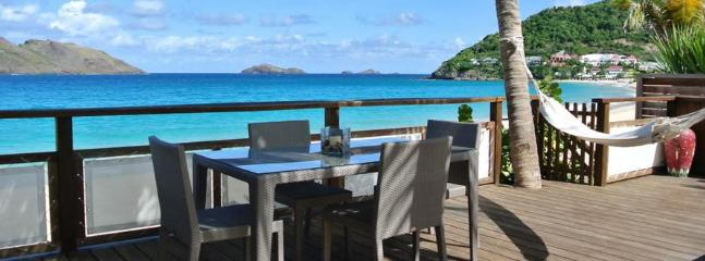 Raisiniers at Flamands, St. Barth - Beachfront Cottage, Pool, Tropical Garden - Image 1 - Flamands - rentals