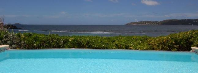 Sea, Sand and Sun at Anse des Cayes, St. Barth - On the Beach, Ocean View, Pool - Image 1 - Anse Des Cayes - rentals