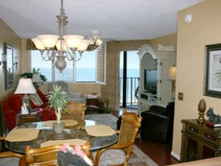 dining/living room area - SPINNAKER 503 - 2 BEDROOM OCEANFRONT - North Myrtle Beach - rentals