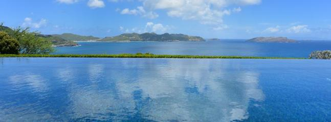 La Danse Des Etoiles at Pointe Milou, St. Barth - Ocean View, Very Large Pool, Seamless Indoor/Outdo - Image 1 - Marigot - rentals