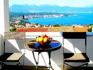 Apartment Gloria w/ great sea view, Malinska, Krk - Malinska vacation rentals