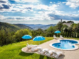 FIRST SOLAR-HEATED SWIMMING POOL IN CENTRAL ISTRIA - Buzet vacation rentals