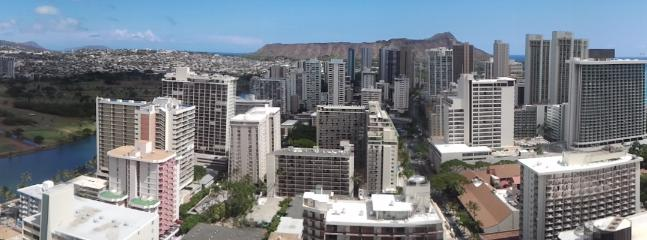 View from Lanais - Heavenly View From This Centrally Located Unit - Honolulu - rentals