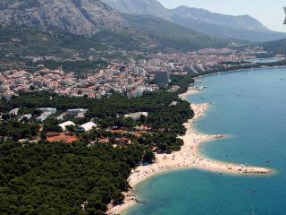 Apartment Bungalow Wi-Fi+2 bikes 100m sea in court - Makarska vacation rentals