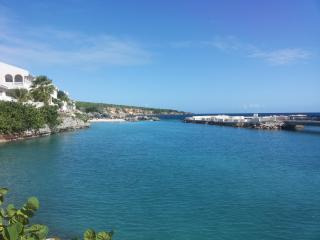 CURACAO OCEAN FRONT BEACH APARTMENT WITH PRIVATE DECK - Willemstad vacation rentals