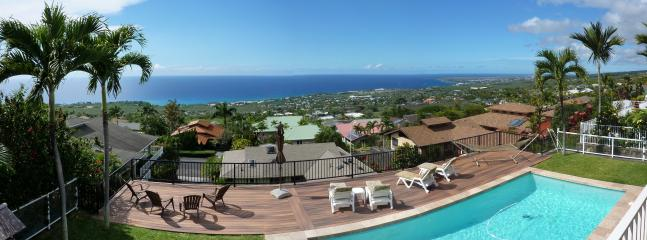 Awesome Views from throughout the home - Luxury Home, AwesomeViews, Heated Pool, in town - Kailua-Kona - rentals