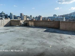 Downtown McGill Giant Private Patio Group * Family (14 single beds) - Montreal vacation rentals