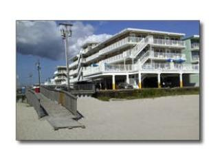 Located on the Beach - Summer Sands Beachfront Condo Steps to the Ocean! - Wildwood Crest - rentals